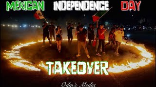 Mexican Independence Day Highway Takeover San Antonio Texas