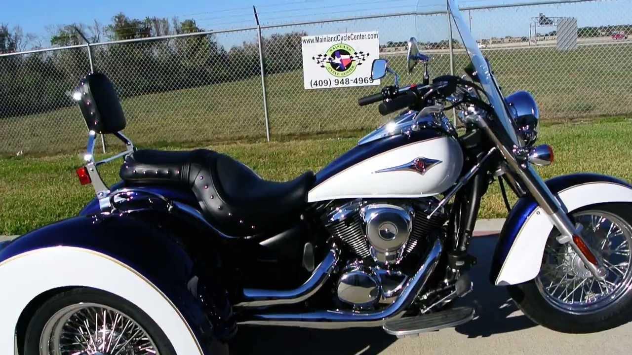 Kawasaki Vulcan Trike For Sale