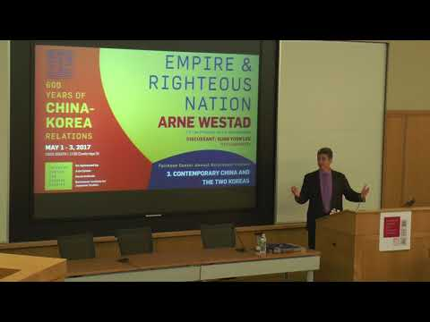 Part 3: Empire and Righteous Nation: 600 Years of China-Korea Relations