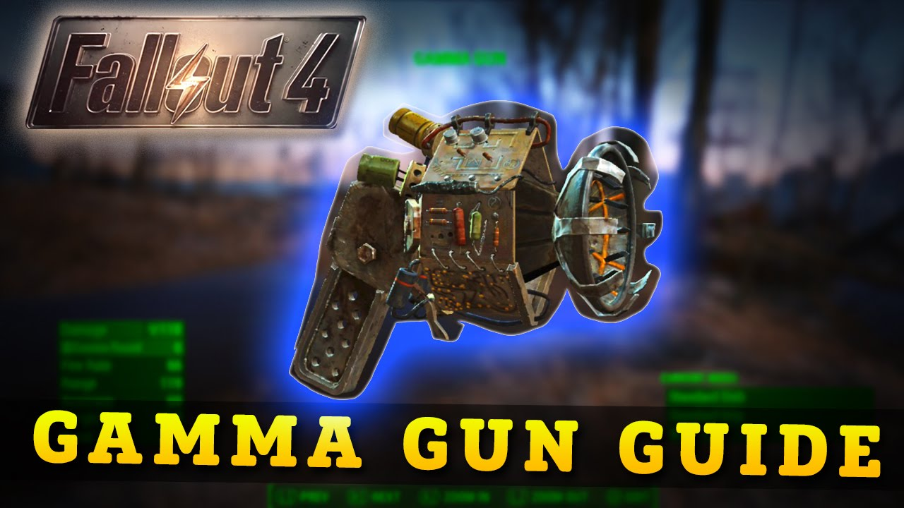 Fallout 4: HOW TO GET THE GAMMA GUN! (Fallout 4 Secret Weapons)