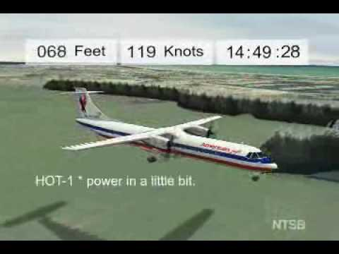 NTSB Animations: Executive Airlines 5401
