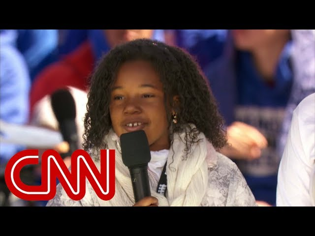 More Than Symbolism In Dr King S Granddaughter S Plea At The March