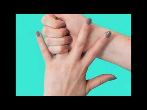 На руке болит безымянный палец