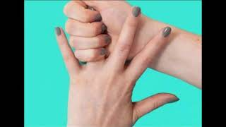 Попробуйте потянуть безымянный палец в течение 1 минуты. Вы будете удивлены!