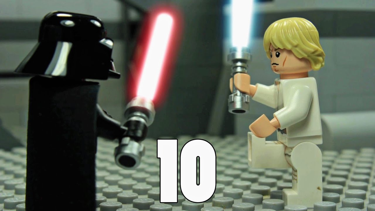 Lego Star Wars Teaching Numbers 1 To 10 Learning To Count Star Wars Parody For Kids Toddlers