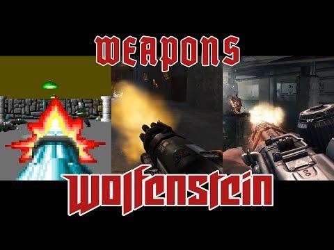 All Weapons of Wolfenstein (1992 - 2017)