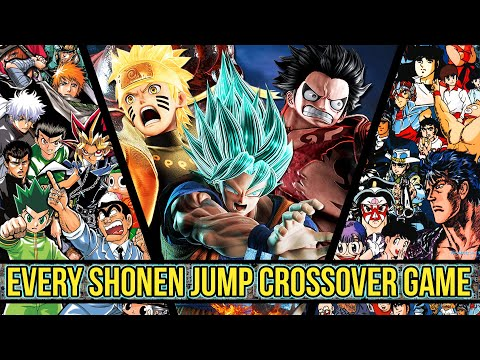The History Of Every Shonen Jump Crossover Game Leading Up To Jump Force!