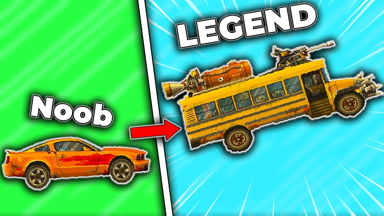 I upgraded vehicles to EXTREMES in Earn to Die 2012