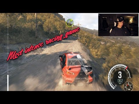 DIRT Rally: This game is scary. |