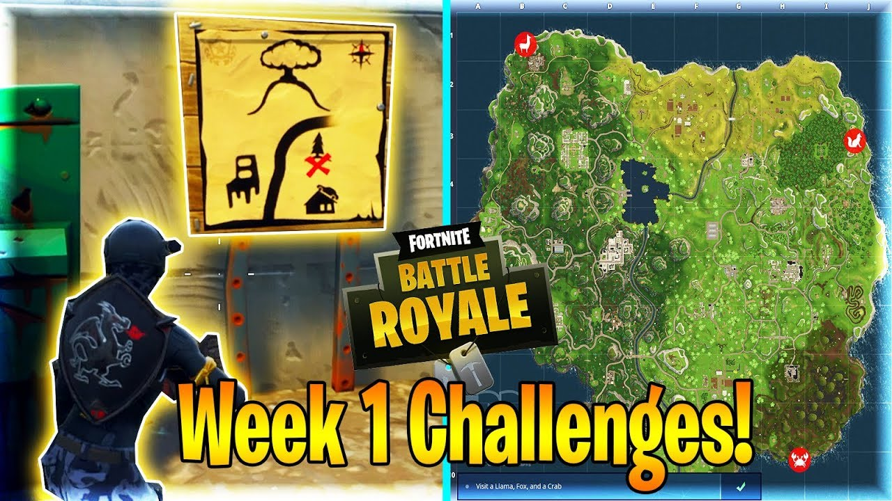 how to create a challenge map