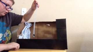 How To Make A American Girl Doll Hanging/hide Away Chair