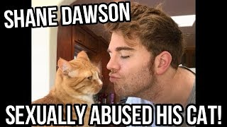 Youtube Star Shane Dawson Sexually Abused His Cat With Audio Proof!