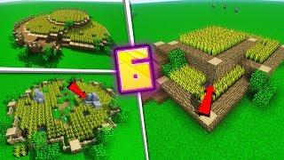 6 POMYSŁÓW na FARMY w MINECRAFT!
