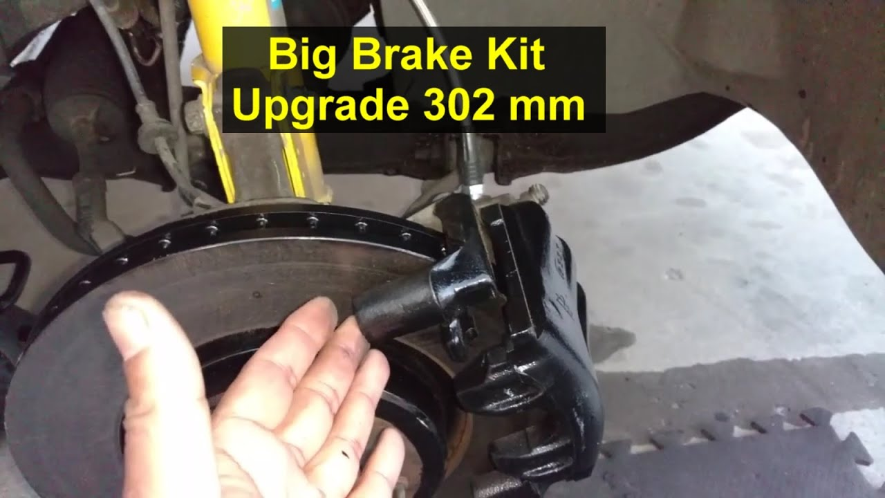 big brake upgrade to 302 mm rotors volvo 850 s70 v70 etc votd youtube. Black Bedroom Furniture Sets. Home Design Ideas