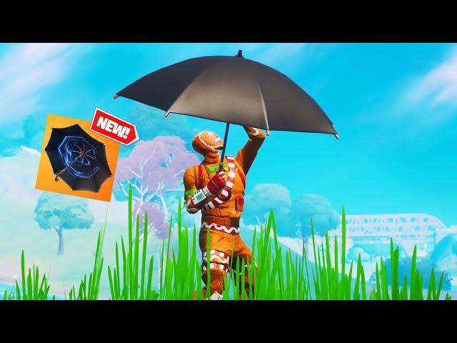 fortnite added the MEME UMBRELLA
