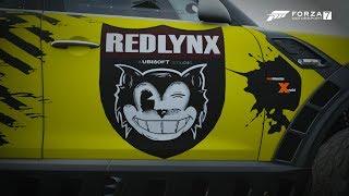 خلق فورزا 7 كسوة - Redlynx شعار