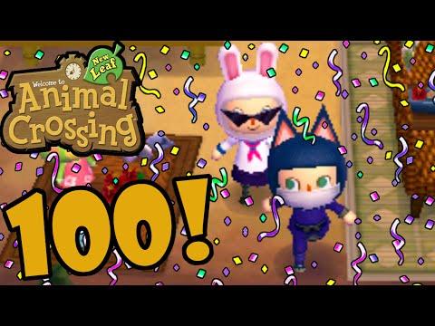 Animal Crossing: New Leaf 3DS Mayor Danielle! 100th Episode Special Gameplay Walkthrough Nintendo