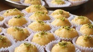 РЕЦЕПТ Рава Ладу, изысканный, нежный и очень вкусный десерт.