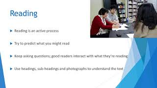 Reading and Writing Skills - Reading - 01