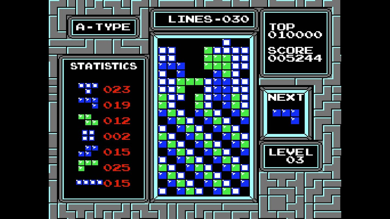 Image result for tetris nes