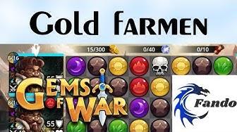 Gems of War deutsch  Gold farmen