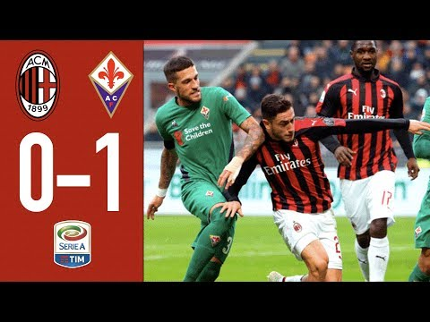 Highlights AC Milan 0-1 Fiorentina - Matchday 17 Serie A 2018/19