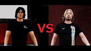 XBOX ONE版のプロレスゲーム WWE 2K18のオンライン対戦でプロレスごっこ...