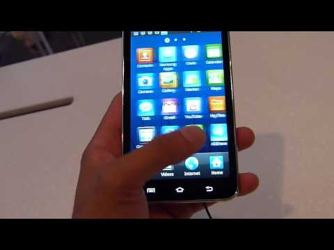 Samsung Galaxy Player 5.0 Hands-on