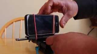 35mm Dof Adapter with Mobile Phone ( prueba de video)(Adapte el lente de 50mm. con un adaptar dof, a mi telefono mobil logrando una imagen mas cretiva y con mayor calidad. aun que la prueba es muy corta lo ..., 2013-03-09T22:54:07.000Z)