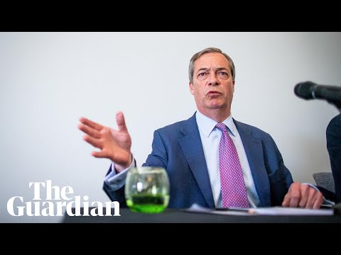 Nigel Farage: 'I've never been a conspiracy theorist'