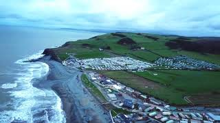Clarach Bay Aberystwyth in 4K Using DJI Magic Pro