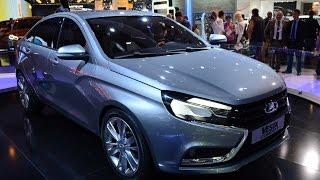 Лада Веста 2015 фото, цена, видео обзор, технические характеристики Lada Vesta