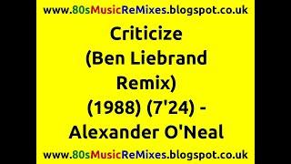 Criticize (Ben Liebrand Remix) - Alexander O
