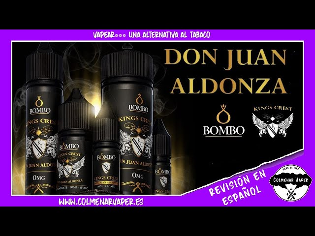 DON JUAN ALDONZA de Bombo & Kings Crest