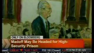 Madoff May Be Headed For High Security Prison - Bloomberg
