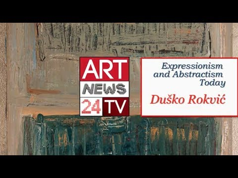 ABSTRACT EXPRESSIONIST PAINTERS : Dusko Rokvic