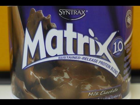 Протеин Syntrax Matrix. Плюсы и минусы.