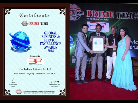 Best Website Designing Company in Delhi NCR Award
