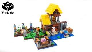 Lego Minecraft 21144 The Farm Cottage - Lego Speed Build