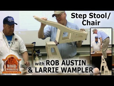 Step stool/chair - Rob Austin, Larrie Wampler