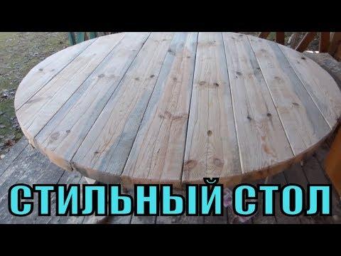 Своими руками изготовление стола