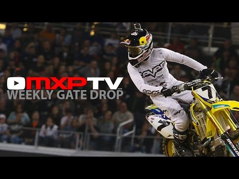 James Stewart Out For 2015 - MXPTV Weekly Gate Drop | Episode 1