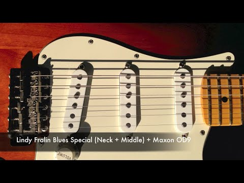Fender Texas Special & Lindy Fralin Blues Special pickups Demo / Comparison