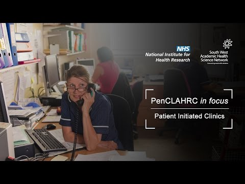 NIHR New Media Competition 2016 - Patient-Initiated Clinics (PIC)