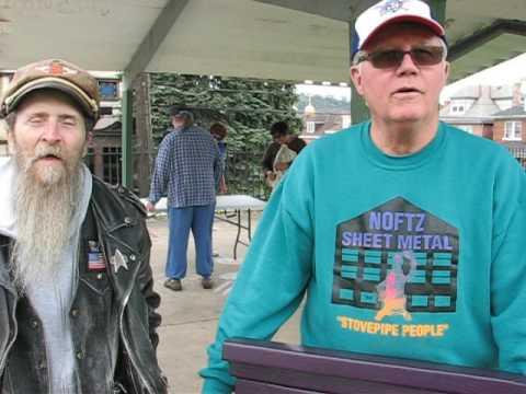 MVI 2433 - Terrence Sklenar and  Mayor Thomas Whyel - North Braddock PA