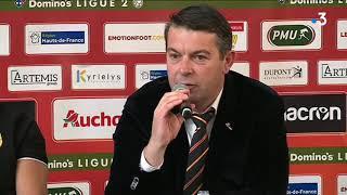 RC Lens : ce qu'il faut retenir de la 1ère conférence de presse de Philippe Montanier (2ème partie)