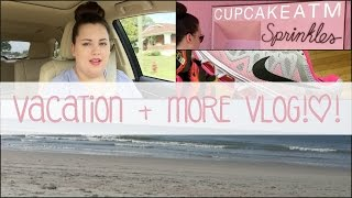 vlog vacay myrtle beach atl shopping more