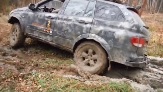 Ssangyong Kyron Off road 4x4 Test in Extreme Conditions