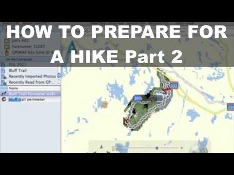 Garmin GPSMAP 62 - 2 How To Prepare for a Hike - BirdsEye Imagery - Basecamp - GPSMAP 64