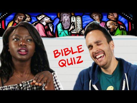 People Raised Christian Take a Bible Quiz